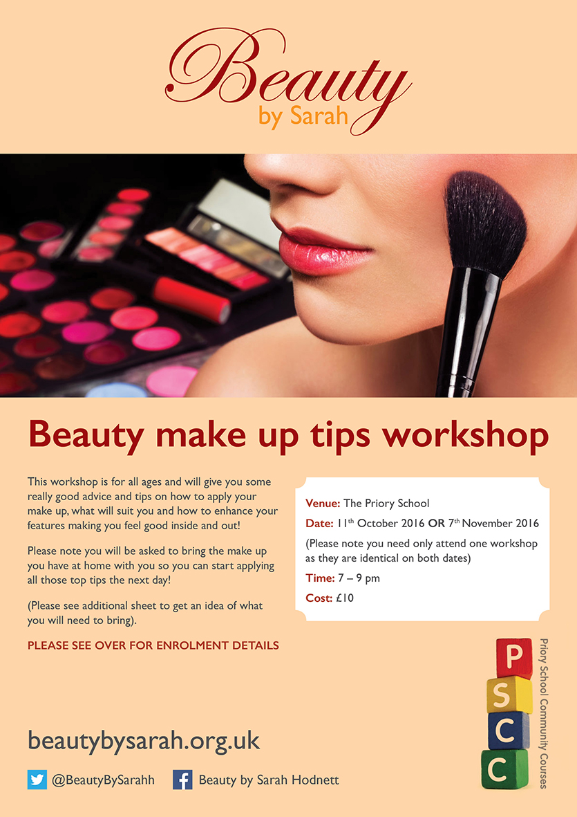 beauty makeup tips workshop beauty by sarah. Black Bedroom Furniture Sets. Home Design Ideas